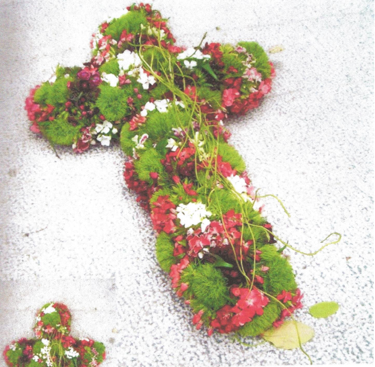 NR 12 kruisvorm met seizoensvulling 100 euro
