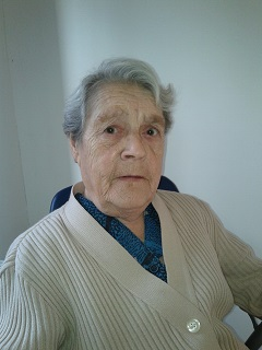 Elza De Backer geboren te Strijtem, 22 september 1933 overleden te Dilbeek, 21 september 2016
