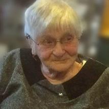 Malvina De Schrijver geboren te Liedekerke op 23 februari 1923 overleden te Aalst op 20 april 2018