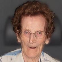 Malvina Geeroms geboren te Roosdaal op 11 oktober 1927 overleden te Roosdaal op 3 mei 2018