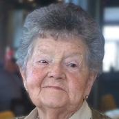 Marie-Louise Van Bellinghen geboren te O.L.V.Lombeek op 5 februari 1927 overleden te Pamel op 7 juni 2018