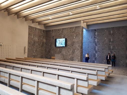 crematorium Aalst kleine aula