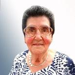 Julia Van Belle geboren te Pamel op 18 augustus 1925 overleden te Roosdaal op 21 november 2020