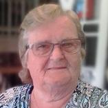 Eveline Wijns geboren te Strijtem op 16 maart 1935 overleden te Aalst op 15 februari 2021