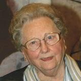 Maria De Schrijver geboren te St-Kath-Lombeek op 23 juni 1923 overleden te Roosdaal op 12 februari 2021