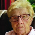 Joanna Desmet geboren te St-Kwintens-Lennik op 13 januari 1921 overleden te Aalst op 10 september 2021